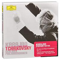 Герберт Караян,Berliner Philharmoniker Herbert Von Karajan, Berliner Philharmoniker. Tchaikovsky. 6 Symphonies (4 CD) джон элиот гардинер john eliot gardiner handel l allegro il penseroso ed il moderato tamerlano etc 6 cd