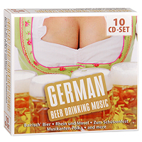 German Beer Drinking Music (10 CD) joe dassin eternel cd