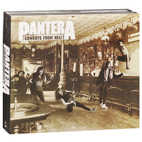 Pantera Pantera. Cowboys From Hell. Deluxe Edition (3 CD) худи print bar pantera cowboys from hell