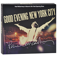 Пол Маккартни Paul McCartney. Good Evening New York City (2 CD + DVD) cd диск simon paul original album classics paul simon songs from capeman hearts and bones you re the one there goes rhymin simon 5 cd