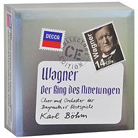Карл Бем,Chor Und Orchester Der Bayreuther Festspiele Karl Bohm. Wagner. Ring Des Nibelungen (14 CD)