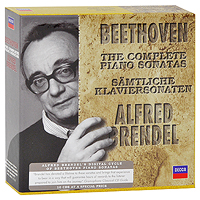 Альфред Брендель Alfred Brendel. Beethoven. The Complete Piano Sonatas (10 CD) ep1800lc 2