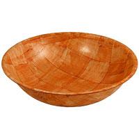 Салатница Oriental way Шафран 25см RDB-10B94672Оригинальная круглая салатница Шафран прекрасно подойдет для вашей кухни. Предназначена для красивой сервировки салатов. Салатница выполнена из высококачественной древесины березы. Изящный дизайн придется по вкусу и ценителям классики, и тем, кто предпочитает утонченность и изысканность. Характеристики:Материал: дерево. Диаметр: 25 см. Высота стенки: 6 см. Производитель: Тайвань. Артикул: RDB-10B. Торговая марка Oriental way известна на рынке с 1996 года. Эта марка объединяет товары для кухни, изготовленные из дерева и других материалов. Все товары марки Oriental way являются безопасными для здоровья, экологичными, прочными и долговечными в использовании.