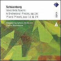 Дэниэл Баренбойм,Chicago Symphony Orchestra Daniel Barenboim. Schoenberg. Verklarte Nacht / 5 Orchestral Pieces, Op. 16 / Piano Pieces, Opp. 11 & 19 daniel barenboim verdi requiem