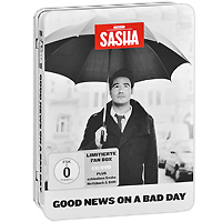 Sasha Sasha. Good News On A Bad Day (Limitierte Fan Box) (CD + DVD) diamond good news bad news cloth