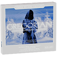Gregorian Gregorian. Christmas Chants & Visions - Super Deluxe Edition (2 CD + DVD) джеймс блант james blunt all the lost souls deluxe edition cd dvd