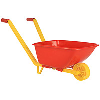 """Детская одноколесная тачка """"Stellar"""" - игрушка, позволяющая приучить ребенка к труду. Яркая тачка сделает уборку листьев в саду или во дворе интересной и полезной игрой для малышей. Тачка оснащена двумя удобными ручками с прорезиненными наконечниками."""