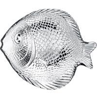 Набор тарелок Marine, 19,6 х 16 см, 6 шт115510Набор Marine состоит из 6 тарелок в форме рыбок. Изделия, выполненные из закаленного стекла и предназначены для красивой сервировки различных блюд. Тарелки сочетают в себе изысканный дизайн с максимальной функциональностью. Оригинальностьоформления придется по вкусу и ценителям классики, и тем, кто предпочитает утонченность и изящность.Характеристики: Материал: стекло.Размер тарелки: 20,5 см х 2 см х 15 см.Размер упаковки: 17,5 см х 8 с х 18 см. Производитель: Турция. Изготовитель: Россия. Артикул: 10256.