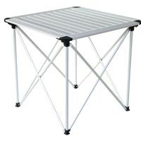 Стол складной KingCamp для кемпинга, 70 см х 70 см, KC 3861УТ-000049711Стол складной KingCamp - это незаменимый предмет походной мебели, очень удобен в эксплуатации. Складной стол выполнен из алюминия. Стол легко собирается и разбирается и не занимает много места, поэтому подходит для транспортировки и хранения дома. Стол упакован в удобную сумку для переноски.Складной стол прекрасно подойдет для комфортного отдыха на даче или в походе. Характеристики: Размер стола: 70 см х 70 см х 66 см. Материал стола: алюминий. Вес: 4600 г. Артикул: KC 3861. Производитель: Китай.