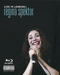 Реджина Спектор Regina Spektor. Live In London (CD + Blu-Ray) cicero sings sinatra live in hamburg blu ray