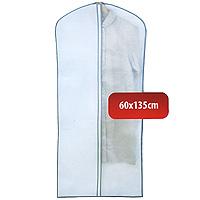 Чехол для одежды Hausmann, 60 х 135 см 2B-360135U210DFУдобный чехол для одежды на молнии из прочного дышащего и водонепроницаемого материала обеспечит надежное хранение Вашей одежды, защитит от повреждений во время хранения и транспортировки. Особая фактура ткани не пропускает пыль и при этом позволяет воздуху свободно проникать внутрь, обеспечивая естественную вентиляцию. Характеристики: Материал: полиэтилен, нетканное полотно. Размер: 60 см х 135 см. Артикул: 2B-360135.Произведено в Китае по заказу Hausmann.Продукция компании Hausmann достаточно хорошо известна на российском рынке. Используя современные технологии в качестве неисчерпаемого источника для вдохновения, она не перестает радовать покупателей товарами отменного качества. Разнообразие товаров приятно удивляет. Вы действительно сможете найти то, что вам необходимо! Вся продукция тщательно проверяется на предмет надежности и безопасности, и вы можете быть уверенными в том, что купленная однажды вещь долго прослужит вам верой и правдой.