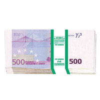 Конверт для денег 500 евро, 10 шт09840-20.000.00Конверт для денег, украшенный изображением пачки банкнот номиналом 500 евро, станет необычным и приятным дополнением к денежному подарку.Характеристики: Размер в сложенном виде: 8,3 см х 16,7 см. Комплектация: 10 конвертов. Производитель: Китай. Артикул: 91346.