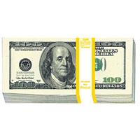 Конверт для денег 100 долларов, 10 штK100Конверт для денег, украшенный изображением пачки банкнот номиналом 100 долларов, станет необычным и приятным дополнением к денежному подарку.Характеристики: Размер в сложенном виде: 8,3 см х 16,7 см. Комплектация: 10 конвертов. Производитель: Китай. Артикул: 91338.