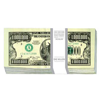 Конверт для денег 1 миллион долларов, 10 шт19201Конверт для денег, украшенный изображением пачки банкнот номиналом 1 миллион долларов, станет необычным и приятным дополнением к денежному подарку.Характеристики: Размер в сложенном виде: 8,3 см х 16,7 см. Комплектация: 10 конвертов. Производитель: Китай. Артикул: 91339.