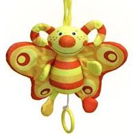 Развивающая музыкальная игрушка Бабочка мобили little bird told me развивающая музыкальная игрушка бабочка