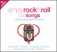 Simply Rock'n'Roll Love Songs (2 CD) cd диск the doors when you re strange a film about the doors songs from the motion picture 1 cd