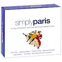 Эдит Пиаф,Тино Росси,Жан Саблон,Макс Марино,Арман Гомез,Max Marino Et Son Orchestre Simply Paris (4 CD)