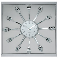 Часы настенные Ложки и вилки, кварцевыеП1-248/7-248Настенные кварцевые часы Ложки и вилки - это не только функциональное устройство, но и своим дизайном подчеркнут оригинальность интерьера вашей кухни.Часы декорированы по кругу ложками и вилками. Часы имеют две стрелки - часовую, минутную, которые выполнены в виде ножа и вилки. Циферблат защищен стеклом. Часы легко можно подвесить в удобном для вас месте. Кроме того, такие настенные часы могут стать отличным подарком для ценителя ярких и качественных вещей. Характеристики:Материал: стекло, пластик. Размер часов: 36 см х 36 см х 3 см. Диаметр циферблата:13 см. Размер упаковки: 42 см х 4 см х 39 см. Изготовитель: Китай. Артикул: 91198. Работают от батарейки 1,5V типа АА (не входит в комплект).