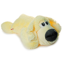 Очаровательная собака Соня вызовет умиление и улыбку у каждого, кто ее увидит. Она станет замечательным подарком, как ребенку, так и взрослому. Мягкая игрушка может стать милым подарком, а может быть и лучшим другом на все времена.