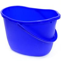 Ведро Apex, цвет: синий, 15 л. 10365531-105Ведро Apex изготовлено из высококачественного цветного пластика. Оно легче железного и не подвержено коррозии.Уникальный дизайн и эргономическая форма ручки позволяет с комфортом и безболезненно переносить содержимое ведра.Такое ведро станет незаменимым помощником в хозяйстве.Размер (по верхнему краю): 26 см х 37 см.Высота (без учета ручки): 26 см.