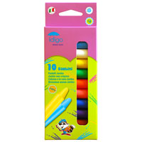 """Восковые мелки """"Jumbo"""" отлично передают цвета и имеют широкую гамму оттенков. В наборе 10 цветов: желтый, оранжевый, зеленый, красный, синий, розовый, коричневый, голубой, черный и белый. Мелки выполнены из 100% пчелиного воска. Такие мелки отлично подойдут для детского творчества."""