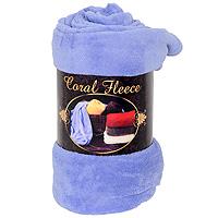 Плед флисовый Coral Fleece, цвет: фиолетовый,220 х 200 см(небесный)4630003364517Приятный на ощупь плед Coral Fleece, выполненный из микроволокна, добавит комнате уюта и согреет в прохладные дни. Он имеет две одинаковые стороны. Удобный, большой размер этого очаровательного пледа позволит вам использовать его и как одеяло, и как покрывало для кресла или софы. Плед сохраняет всесвои свойства после многократных стирок. Такое теплое украшение может стать отличным подарком друзьям и близким! Характеристики: Материал: 100% полиэстер. Размер: 220 см х 200 см. Цвет: синий. Изготовитель:Китай. Артикул: РК-200-220.