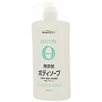 Жидкое мыло для тела Pharmaact, для чувствительной кожи, 600 мл1971001Жидкое мыло для тела Pharmaact без добавок предназначено для чувствительной кожи. Состоит на 100% из натуральных компонентов. Кремообразная пена, мягко и нежно очищает кожу. Не содержит отдушек, красителей и антисептических средств. Подходит для чувствительной кожи, склонной к аллергическим реакциям. Характеристики: Объем: 600 мл. Производитель: Япония. Артикул: 007260. Товар сертифицирован.