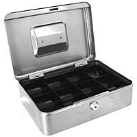 Кэшбокс Office-Force Т28, цвет: серебро10028Вашему вниманию предлагается металлический ящик для хранения денег и мелких предметов с ключевым замком. Стальной корпус окрашен методом напыления краски в серебряный цвет.В комплект входят 2 ключа. Внутри пластиковый лоток для мелочи. Для удобства транспортировки предусмотрена никелированная ручка. Характеристики:Материал: металл, пластик. Размер кэшбокса: 25 см х 18 см х 9 см. Цвет: серебро. Изготовитель: Китай. Артикул: 10028.