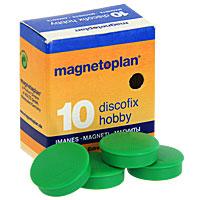 Магниты Hobby, цвет: зеленый, 10 штFS-00897Яркие магниты Hobby, оснащенные цельными ферритными стержнями, предназначены для крепления печатных материалов на магнитных досках и на любых металлических поверхностях.Характеристики: Размер: 2,5 см х 2,5 см х 0,8 см. Размер упаковки: 5 см х 2,5 см х 5,5 см. Материал: пластик, магнит. Цвет: зеленый. Количество магнитов: 10 шт. Производитель: Германия. Артикул: 16 645 05.Magnetoplanявляется самым первым производителем досок планирования и презентационного оборудования и с 1956 г. сохраняет лидерство в списке старейших компаний, предлагающих средства визуальной коммуникации, что свидетельствует о безусловном качестве продукции.