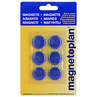 Яркие магниты Hobby, оснащенные цельными ферритными стержнями, предназначены для крепления печатных материалов на магнитных досках и на любых металлических поверхностях.