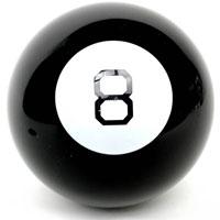 Магический шар 874-0120Знаменитый мобильный предсказатель - магический шар 8 - привлечет внимание не только ребенка, но и взрослого и даст ответы на все интересующие вопросы. Суть работы Магического шара предельно проста и от того гениальна: вы задаете шару вопрос, легонько трясете, переворачиваете его восьмеркой вниз, и на экране с обратной стороны шара всплывает ответ. Это действительно магия, так как большинство ответов попадают в точку! Необходимо помнить, что ответы, которые дает шар, могут не соответствовать действительности, т.к. шар - это игрушка, а не инструмент гадания, дающий точные ответы. Шар дает ответы на русском языке.Игрушка поднимет настроение вам и вашим близким и станет отличным подарком любителю всего необычного и оригинального. Характеристики: Диаметр шара: 10 см. Количество ответов: 20. Размер упаковки: 10 см x 10 см x 10 см.УВАЖАЕМЫЕ КЛИЕНТЫ!Обращаем ваше внимание на тот факт, что данный товар относится к группе товаров, чувствительных к минусовой температуре. Под воздействием низких температур возможно замерзание жидкости и в дальнейшем ее протекание, поэтому рекомендуем учитывать данное обстоятельство при заказе товара в зимний период времени. Также обращаем ваше внимание на возможные изменения в дизайне упаковки.Комплектация осталась без изменений.