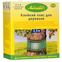 Клейкий пояс для деревьев Aeroxon, 3,5 мBF-21-04-009-1Клейкий пояс для деревьев Aeroxon, не содержащий ядов, для борьбы с гусеницами, муравьями и другими ползающими насекомыми. Не наносит вреда полезным насекомым и устойчив к влажности. В комплекте с крепежной веревкой. Характеристики: Длина пояса:3,5 м. Длина веревки:8,5 м. Размер упаковки: 10,5 см х 9,5 см х 5 см. Изготовитель: Германия. Артикул: Т24065.