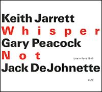 Кейт Джарретт,Гэри Пикок,Джек Де Джонетт Keith Jarrett, Gary Peacock, Jack Dejohnette. Whisper Not. Live In Paris 1999 (2 CD) keith billings master planning for architecture
