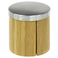 Набор для соли и перца Oriental way NL18527115510Набор Oriental way, состоящий из солонки и перечницы, изготовлен из бамбука. Солонка и перечница легки в использовании: стоит только перевернуть емкости, и вы с легкостью сможете поперчить или добавить соль по вкусу в любое блюдо.Дизайн, эстетичность и функциональность набора позволят ему стать достойным дополнением к кухонному инвентарю.Характеристики: Материал:бамбук, сталь. Размер емкости: 7,5 см х 7 см х 3,5 см. Размер подставки: 7 см х 1 см х 7 см. Производитель:Китай. Артикул:NL18527. Торговая марка Oriental way известна на рынке с 1996 года. Эта марка объединяет товары для кухни, изготовленные из дерева и других материалов. Все товары марки Oriental way являются безопасными для здоровья, экологичными, прочными и долговечными в использовании.