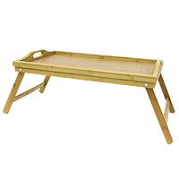 Поднос на ножках Oriental way BB3002115610Столик-поднос Oriental way, выполненный из бамбука, практичен и прослужит вам долгие годы. Благодаря двум ручкам вы сможете с легкостью переносить стол, а удобные ножки надежно удержат его на любой поверхности. С этим столиком ваш утренний завтрак станет незабываемым! Характеристики:Материал:бамбук. Размер столика:50 см х 30 см. Высота ножек:20,5 см. Производитель:Китай. Артикул:BB3002. Торговая марка Oriental way известна на рынке с 1996 года. Эта марка объединяет товары для кухни, изготовленные из дерева и других материалов. Все товары марки Oriental way являются безопасными для здоровья, экологичными, прочными и долговечными в использовании.