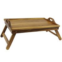 Поднос на ножках Oriental way 9/855115510Столик-поднос Oriental way, выполненный из дерева гевеи, практичен и прослужит вам долгие годы. С помощью ручек вы сможете с легкостью переносить поднос, а удобные складывающиеся ножки надежно удержат его на любой поверхности. С этим столиком ваш утренний завтрак станет незабываемым! Характеристики: Материал:дерево гевеи. Размер полки:56 см х 36 см х 5,5 см. Высота ножек:22 см. Размер упаковки:56 см х 36 см х 5,5 см. Артикул:9/855.