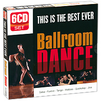 The Ray Hamilton Orchestra Ballroom Dance (6 CD) элла фитцжеральд the count basie orchestra tommy flanagan trio оскар питерсон ray brown duo jazz at the santa monica civic 72 3 cd