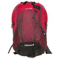 Рюкзак городской Lafuma Active 20L, цвет: красныйLFS5009Городской рюкзак Lafuma Active 20L предназначен для прогулок и велоспорта. Он позволит вам взять с собой все необходимое. Рюкзак выполнен из прочного нейлона. Особенности рюкзака Lafuma Active 20L:анатомические регулируемые лямки держатель для трекинговых палок большой наружный сетчатый карман 2 боковых сетчатых кармана система вентиляция спины компрессионные ремни внутренний органайзер накидка от дождя Характеристики: Материал: полиэстер. Объем рюкзака: 20 л. Размер: 45 см х 27 см. Вес: 890 г. Цвет: красный. Производитель: Франция. Артикул: LFS5009.Продукция французской фирмыLafumaотносится к элитному классу снаряжения. На сегодняшний деньLafumaвыпускаетснаряжение для туристов (палатки, спальники, рюкзаки, аксессуары), а также широкий ассортимент кемпинговой мебели высокого качества, которая производится во Франции. В производстве используются высокотехнологичные современные ткани, обеспечивающие комфорт в различных климатических условиях, в том числе экстремальных. Отдыхая на природе, Вы будете чувствовать себя комфортно.