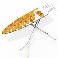 Чехол для гладильной доски Deep Orange, 120 х 43 см54 159921Чехол для гладильной доски Deep Orange, выполненный из хлопка с подкладкой из мягкого нетканого материала, предназначен для защиты или замены изношенного покрытия гладильной доски. Чехол снабжен стягивающим шнуром, при помощи которого вы легко отрегулируете оптимальное натяжение чехла и зафиксируете его на рабочей поверхности гладильной доски.Этот качественный чехол обеспечит вам легкое глажение. Характеристики:Материал чехла: 100% хлопок. Материал подкладки: полиэстер. Размер чехла: 120 см x 43 см. Размер доски, на которую предназначен чехол: 110 см x 33 см. Изготовитель: Италия. Артикул: 12030014. Уважаемые клиенты!Обращаем ваше внимание, что гладильная доска в комплект не входит, а служит для восприятия товара.