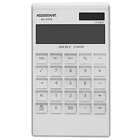 Яркий и практичный настольный калькулятор имеет матричный 12-разрядный большой дисплей, цветной пластиковый корпус (3 различных цвета) и прозрачную удобную чувствительную клавиатуру. Калькулятор идеален для нанесения фирменного логотипа. Калькулятор имеет двойную систему питания: от солнечного элемента и от батареи, - что гарантирует ему бесперебойную работу на несколько лет. С этим калькулятором Вы точно не забудете, какой расчет Вы собирались провести: подскажет дисплей с функцией отображения проводимого действия.   12-ти разрядный дисплей  Вычисление процентов   Цветной пластиковый корпус  Двойное питание   Прозрачные пластиковые кнопки   Отображение проводимого действия  Удаление последнего введенного символа   Характеристики: Размер калькулятора: 18,3 x 10,7 x 1,5 см. Размер дисплея: 9,4 см х 2,6 см. Цвет: белый. Изготовитель: Китай.