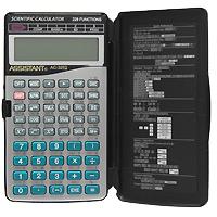 Калькулятор инженерный Assistant AC-3252, 228 функцийFS-00101Современный инженерный калькулятор - это решение для современных людей. Дизайн в стиле Hi-Tech подчеркнет стиль и статус ее обладателя, а 228 функций позволят в мгновение решить самые сложные алгебраические задачи. 10 разрядов мантиссы2 разряда экспоненты 228 функций Двухстрочный дисплей Питание от батарейки Пластиковые кнопки Пластиковая крышка Металлическая лицевая панель Характеристики: Размер калькулятора: 14 x 8,1 x 1,4 см. Размер дисплея: 6 см х 1,7 см. Цвет: черный, серебристый. Изготовитель: Китай. Калькулятор, пластиковая крышка.
