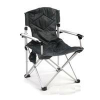 Кресло складное KingCamp Deluхe. КС380809840-20.000.00Складное кресло KingCamp Deluxe с широким сиденьем - незаменимым предметом в походе, на природе, на рыбалке, а также на даче. У кресла есть подвесной карман для мелочей.Кресло имеет прочный металлический каркас и покрытие из текстиля, оно легко собирается и разбирается и не занимает много места, поэтому подходит для транспортировки и хранения дома. Для большего удобства к креслу прилагается чехол для хранения с удобной ручкой. Характеристики: Размер в разложенном виде: 67 см х 55 см х 97 см. Высота спинки сиденья: 48 см. Размер в сложенном виде: 90 см х 22 см х 19 см. Материал: полиэстер 1200DOxford PVC, алюминий. Вес: 3,7 кг. Производитель: Китай. Артикул: 3808.