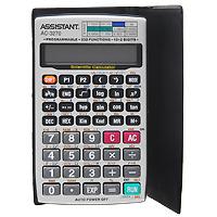 Калькулятор инженерный Assistant AC-3270, 232 функцииAC-1125Современный инженерный калькулятор - это решение для современных людей. Дизайн в стиле Hi-Tech подчеркнет стиль и статус ее обладателя, а 232 функции позволят в мгновение решить самые сложные алгебраические задачи. Вам необязательно каждый раз повторять одну и ту же последовательность вычислений. Функция программирования позволяет многократно выполнять сложную последовательность, введя ее один раз в виде алгоритма. 10 разрядов мантиссы2 разряда экспоненты 232 функции Программируемый 2 программы до 38 шагов Питание от батарейки Резиновые кнопки Металлический корпус ПВХ чехол Характеристики: Размер калькулятора: 13,1 x 7,8 x 1,2 см. Размер дисплея: 5,8 см х 1,3 см. Материал: пластик, ПВХ.Цвет: черный, серебристый. Изготовитель: Китай.