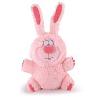 Мягкая игрушка Заяц Пушок, 40 см мягкая игрушка заяц с длинными ушами