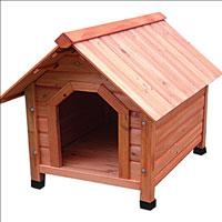 Деревянная будка для собак  Triol , 82 см х 100 см х 90 см - Будки для собак