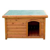 Деревянная будка для собак  Triol , 77 см х 103,7 см х 66 см - Будки для собак
