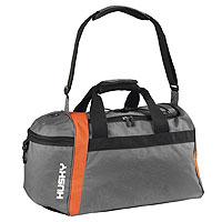 Сумка спортивная Husky  Attack 40 L , цвет: серый, оранжевый - Сумки и рюкзаки