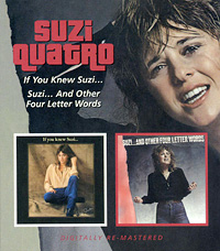 Сьюзи Куатро Suzi Quatro. If You Knew Suzi... / Suzi... And Other Four Letter Words quatro scott powell quatro scott powell quatro scott powell deluxe edition 2 lp