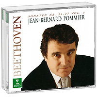 claude bernard 10216 3apn1 bernard Жан Бернард Пуммьер Jean-Bernard Pommier. Beethoven. Sonaten Nr. 21-27 (2 CD)