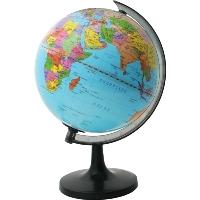 """Географический глобус """"Rotondo"""" с политической картой мира станет незаменимым атрибутом обучения не только школьника, но и студента. Глобус дает представление о политическом устройстве мира. На нем отображены линии картографической сетки, показаны границы государств, столицы государств и крупнейшие населенные пункты. Глобус является уменьшенной и практически не искаженной моделью Земли и предназначен для использования в качестве наглядного картографического пособия, а также для украшения интерьера квартир, кабинетов и офисов. Красочность, повышенная наглядность визуального восприятия взаимосвязей, отображенных на глобусе объектов и явлений, в сочетании с простотой выполнения по нему различных измерений делают глобус доступным широкому кругу потребителей для получения разнообразной познавательной, научной и справочной информации о Земле."""